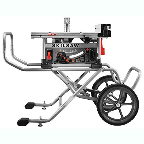 Skilsaw SPT99-12 10' Heavy Duty Portable Folding Worm Drive Table Saw with Stand