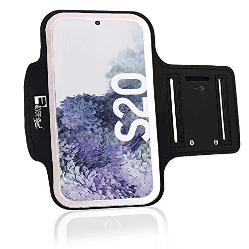 RevereSport Samsung S20 Sportarmband. Armband Telefon Handy Halter Case für Laufen, Workout, Joggen und Fitness (S20)