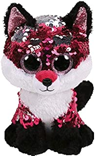MANGMOC Ty Beanie Boos Sequin Animal Plush Toys Doll Cat Fox Owl Unicorn Dog Sheep Gift for Girl 15Cm Thing You Must Have Kids Girl Gifts The Favourite Anime Superhero Party Favors Toy Unboxing