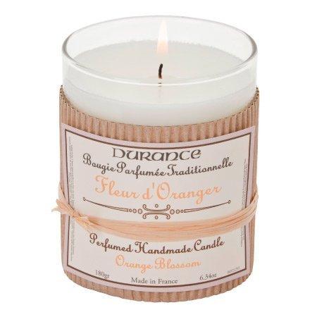 DURANCE Bougie Parfum Fleur d'Oranger