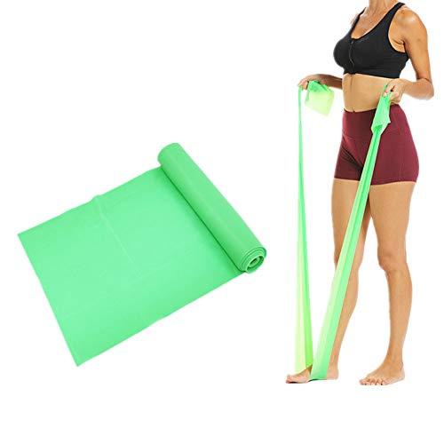 KUENG Cinta Elastica Gomas Elasticas Fitness Cintas Elasticas Musculacion Cintas Elasticas Fitness Gluteos Resistance Bands Green,1500-150-0.35mm
