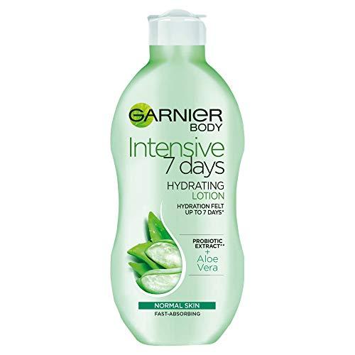 Garnier Intensive 7 Days Aloe Vera Extrait Probiotique Lotion Corporelle Peau Normale 250 ml