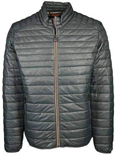 Calamar Herren Jacke mit Cooler Steppung Größe 5XL Grau (grau)