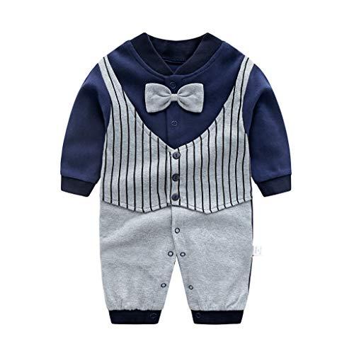 Recién Nacido Pelele Bebé Niño Pijama de Algodón Mameluco Tuta Trajes 6-9 Meses