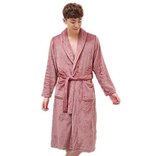 Dames ochtendjas kort met lichte boom badjas sauna strepen design modieus complex pyjama nachthemd
