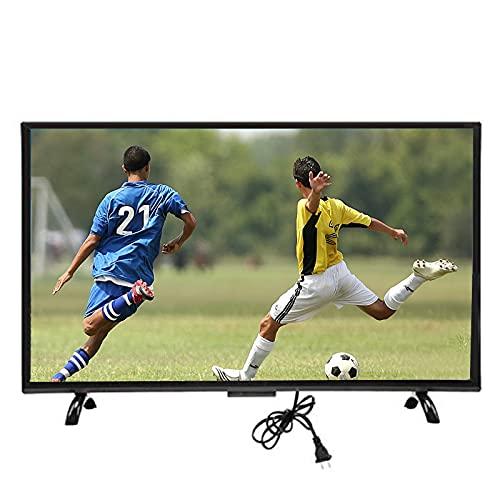 FOLOSAFENAR 32-Zoll-4K-Smart-TV HD-Kurvenfernseher, HD-TV-Bildschirm mit großem Bildschirm 64-Bit-A53-Dual-Core - MPEG-Rauschunterdrückungstechnologie - Intelligente Spracherkennung