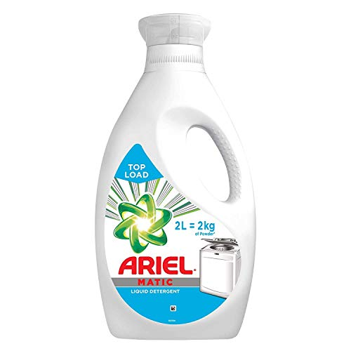 Ariel Matic Liquid Detergent, Top Load, 2 Litre
