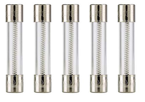 Bussmann MDL-2 Glass Fuse 2 Amp 250 Volt Time Delay (Slo-blo) (5 pack)