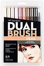 Tombow Dual Brush Pen Art Markers, Portrait, 10-Pack