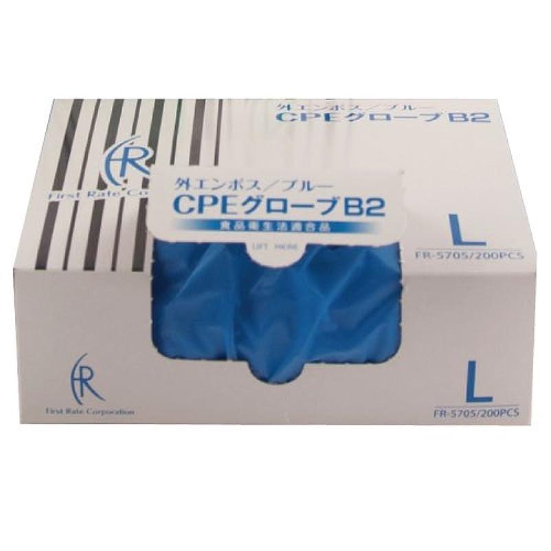 百年書き込み恥ファーストレイト CPEグローブ2(ブルー) FR-5705(L)200マイイリ