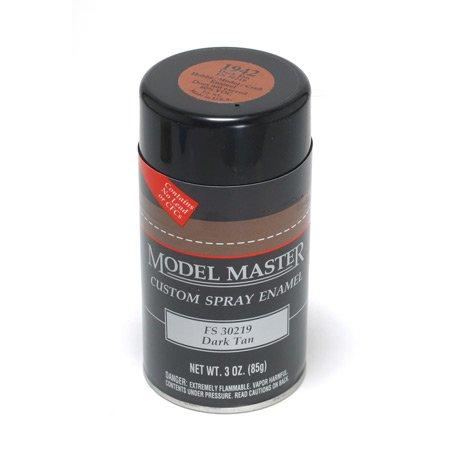 TES1942 Dark Tan Testors Model Master Enamel Spray Paint 3 oz can