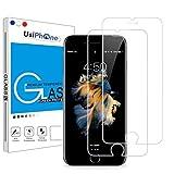 UsiPhone - Lot de 2 Verres Trempés Transparent Compatible avec iPhone 6 / iPhone 6S...
