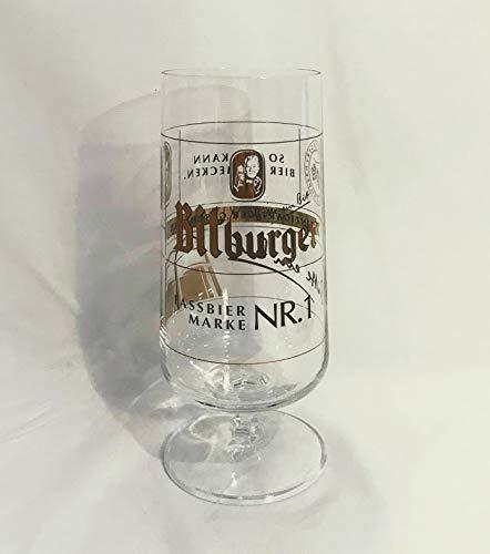 Bitburger Design - Vaso de cerveza (0,3 L, 1 unidad)