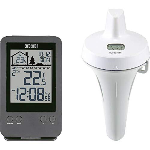 Thermomètre de piscine Eurochron EPT-D1 EC-4279926 1 pc(s)