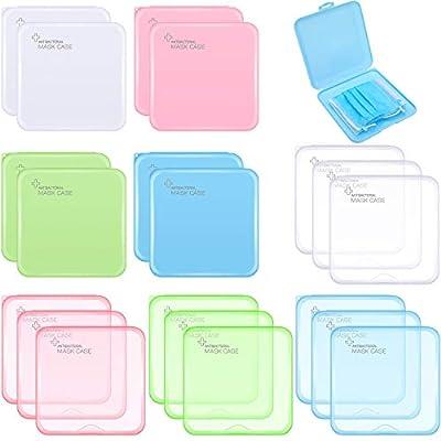 20 Pieces Plastic Storage Case Organizer Reusab...