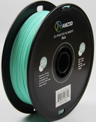 1.75mm Mint Green PLA 3D Printer Filament - 1kg Spool (2.2 lbs) - Dimensional Accuracy +/- 0.03mm