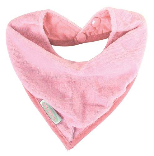 Silly Billyz Bavoir de Dentition Coton, Rose Pale, 0 à 24 mois