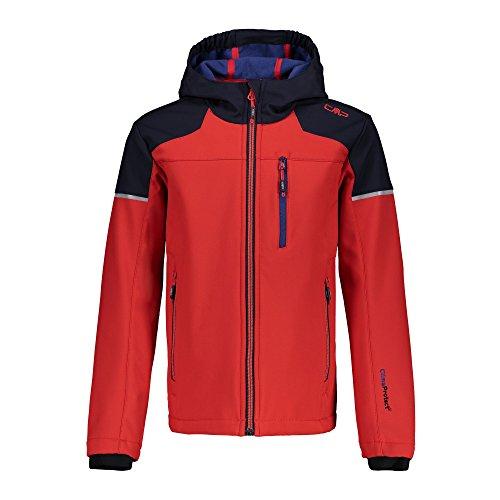 CMP Softshelljacke Jacket, Ferrari-b.Blue, 12 Ans Fille
