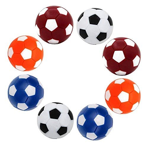 Purchase A0ZBZ Table Soccer Foosballs Replacement Balls Mini Colorful 36mm/1.41 inch Official Tablet...