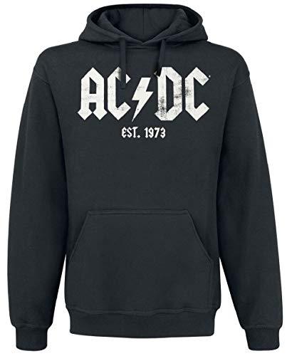 AC/DC Est. 1973 Sweat à capuche - Noir - XXL
