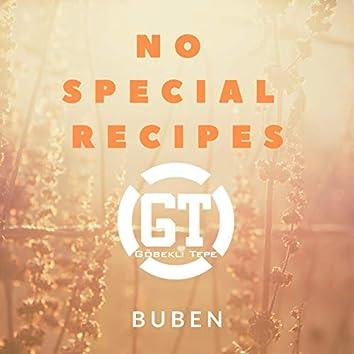 No Special Recipes
