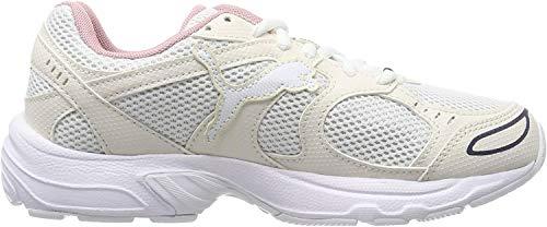 Puma Unisex-Erwachsene Axis Sneaker, Beige (Puma White-Pastel Parchment-Peacoat-Bridal Rose 08), 43 EU