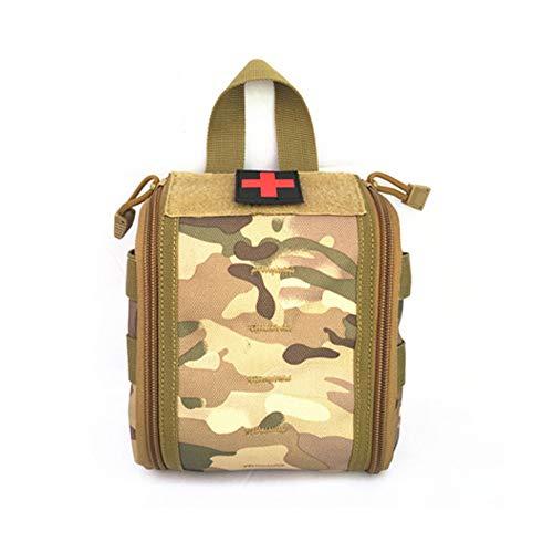 DURAGADGET Sac /à Dos Camouflage de Premiers Secours pour Infirmiers//Aide soignants//m/édecins//secouristes//Pompiers Compartiments pour Votre mat/ériel m/édical