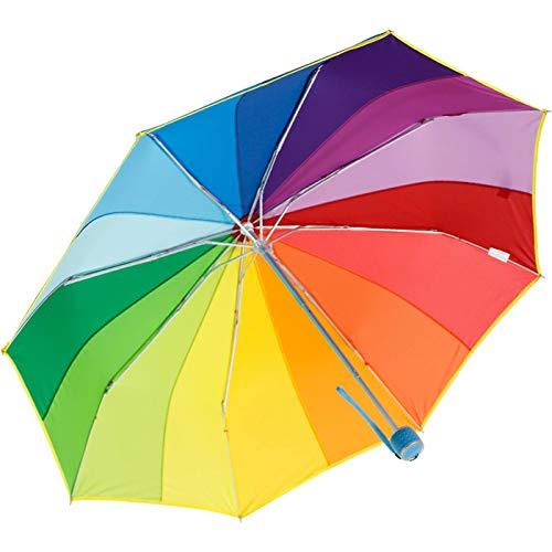 iX-brella Mini Taschenschirm Rainbow 16-Color - Regenbogen
