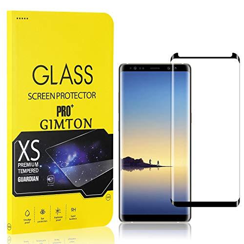 GIMTON Displayschutzfolie für Galaxy Note 8, 9H Härte, Anti Bläschen Displayschutz Schutzfolie für Samsung Galaxy Note 8, Einfach Installieren, 3 Stück