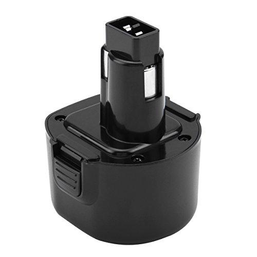 Hanaix Ni-MH 3.0Ah 9.6 Volt Battery for Dewalt DW9062 DW9061 DE9036 DE9061 DE9062 DW9614 DW050 DW902 DW926 DW926K-2 DW952 DW955 DW967K DC750KA Cordless Power Tool