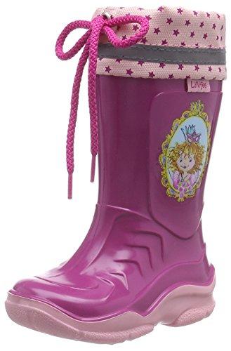 Prinzessin Lillifee Mädchen 130081 Gummistiefel, Pink (Fuchsia), 26 EU