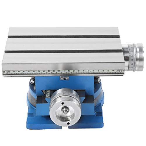 Mesa deslizante de perforación compuesta de fresadora giratoria, para fresadora y taladradora, Mesa deslizante compuesta de herramienta industrial,