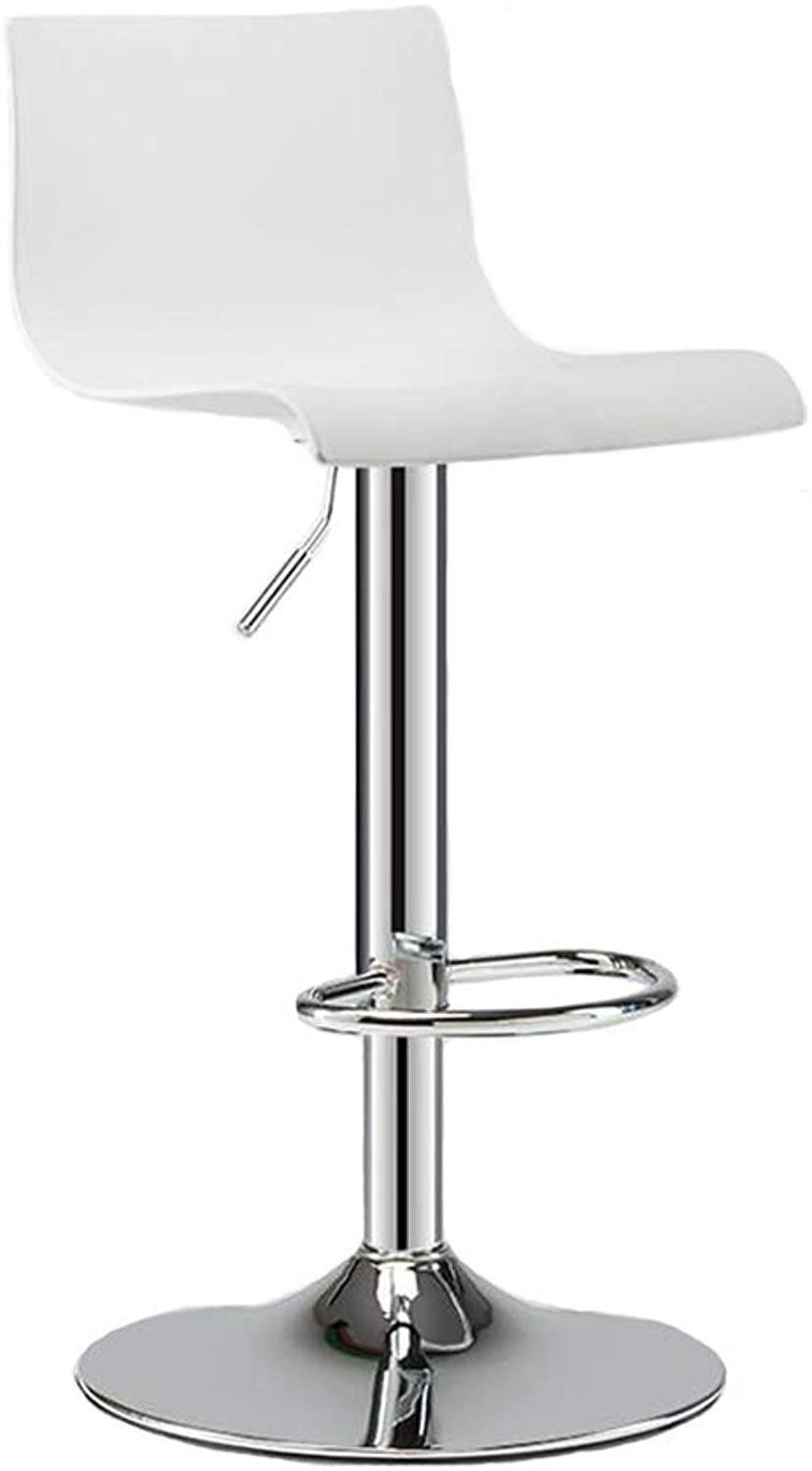Dall Bar Stools Modern Gas Lift Swivel Dinning Chairs Bar Stools Height Adjustable (color   T4)