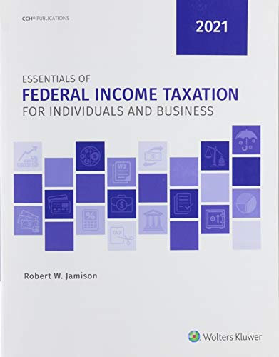 Compare Textbook Prices for Essentials of Federal Income Taxation for Individuals and Business 2021  ISBN 9780808055273 by Linda M. Johnson