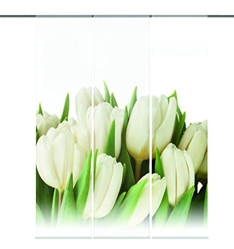Home Fashion Schiebewand, Kunstfaser, Natur