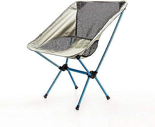Z_L Pêche Grill Plage avec Sac de Transport Siège de pêche léger Chaise de pêche Tabouret de Camping gris mobilier d'extérieur Pliable Nouveau pour chaises Ultra-légères Portables