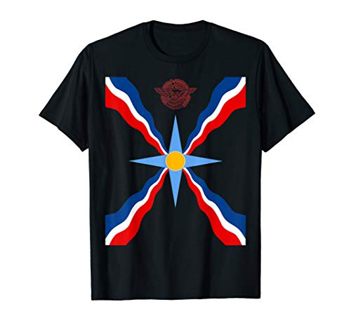 Assyrian Ashur Flag Assyrian Flag Ator T-Shirt