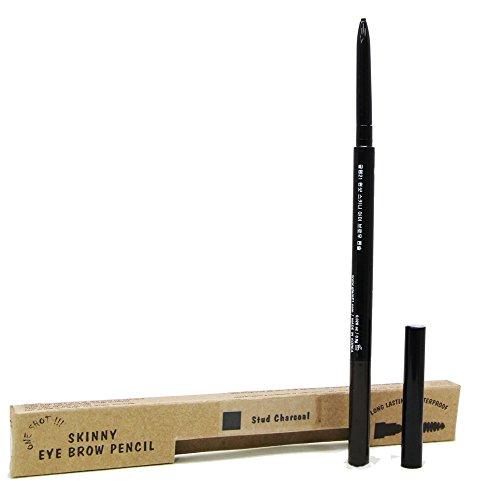 glam21 Skinny Eyebrow Pencil, Stud Charcoal