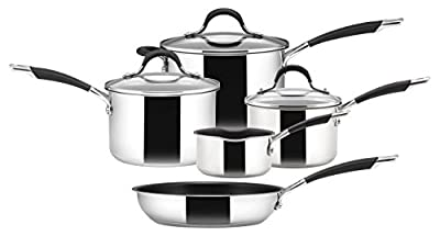 Circulon - Momentum - Hard Anodised Cookware Set - Total Non Stick - Induction Suitable - Set of 5 by Circulon