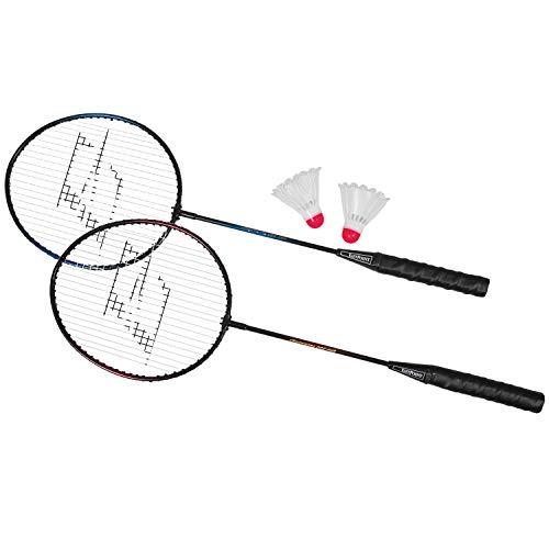 EastPoint 2-Player Badminton Racket Set
