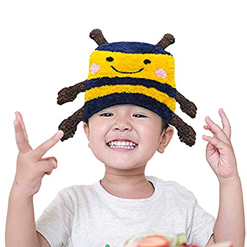 The Original Flipside Pillow Rest Rally Repeat Bumble Bee Hats for Kids and Toddlers Winter Beanie for Outdoor Fun, Ski and Play Unisex