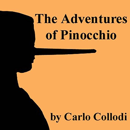 The Adventures of Pinocchio audiobook cover art