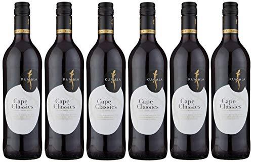 Kumala Cape Classic Red Wine, 75 cl (Case of 6)