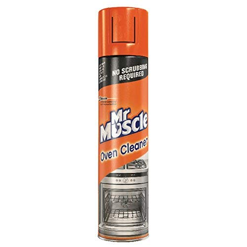 Mr Muscle 2 x Oven Cleaner 300ml spray Grill BBQ Grease grime
