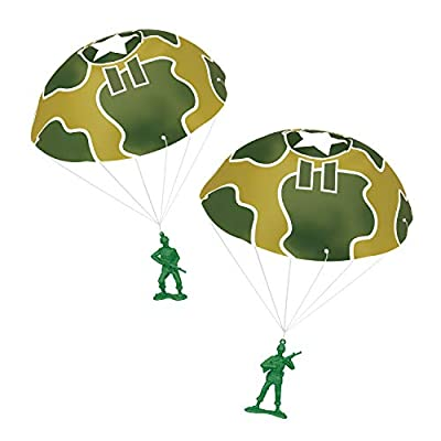 Toy Story 4 Disney Pixar Green Army Men with Parachutes from Thinkway Toys