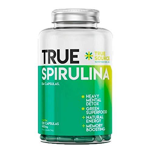 Spirulina TRUE Source 120 Cápsulas 450mg