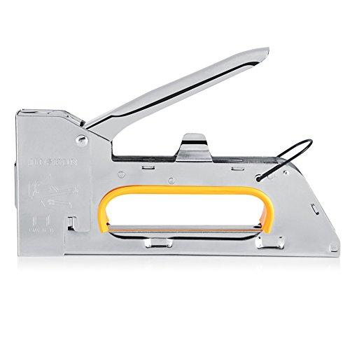 Fdit roestvrijstalen handboek boekje nietmachine meubel nietmachine gecomprimeerde nagel geweer om de nietjes 1008F te houden