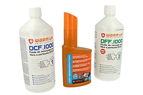 Recharge pour kit de nettoyage FAP Warm up ( 3 produits )