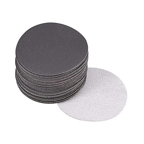 CYH 30 Pieza Discos Abrasivos para Lijar 125mm Papeles de Lija Autoadherentes | Grano 320 600 800 1200 1500 2000 | para La Industria Automotriz de Lijar, Muebles de Madera de Acabado