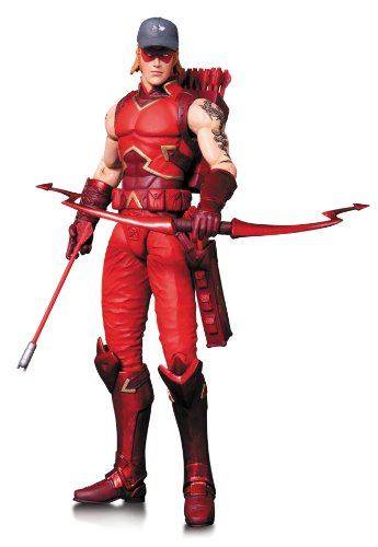 DC Direct- Red Hood and The Outlaws Arsenal Figurine, 761941320007, 17 cm